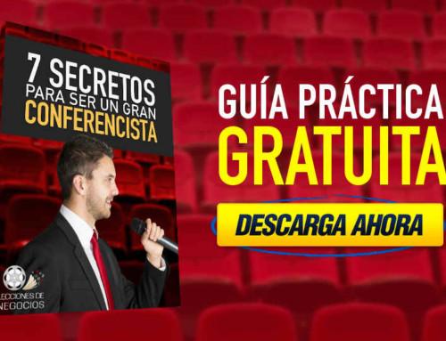 7 Secretos Para Ser Un Gran Conferencista.