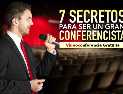 VIDEOCONFERENCIA Cómo Ser Un Conferencista Profesional