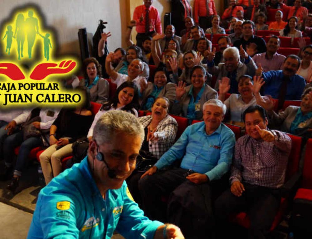 Conferencia con Caja Popular Fray Juan Calero