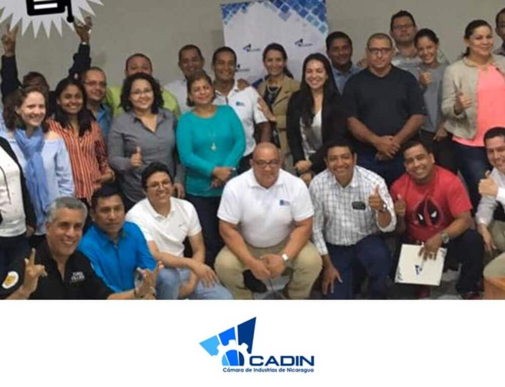 Pura felicidad con la Cámara de Industrias de Nicaragua