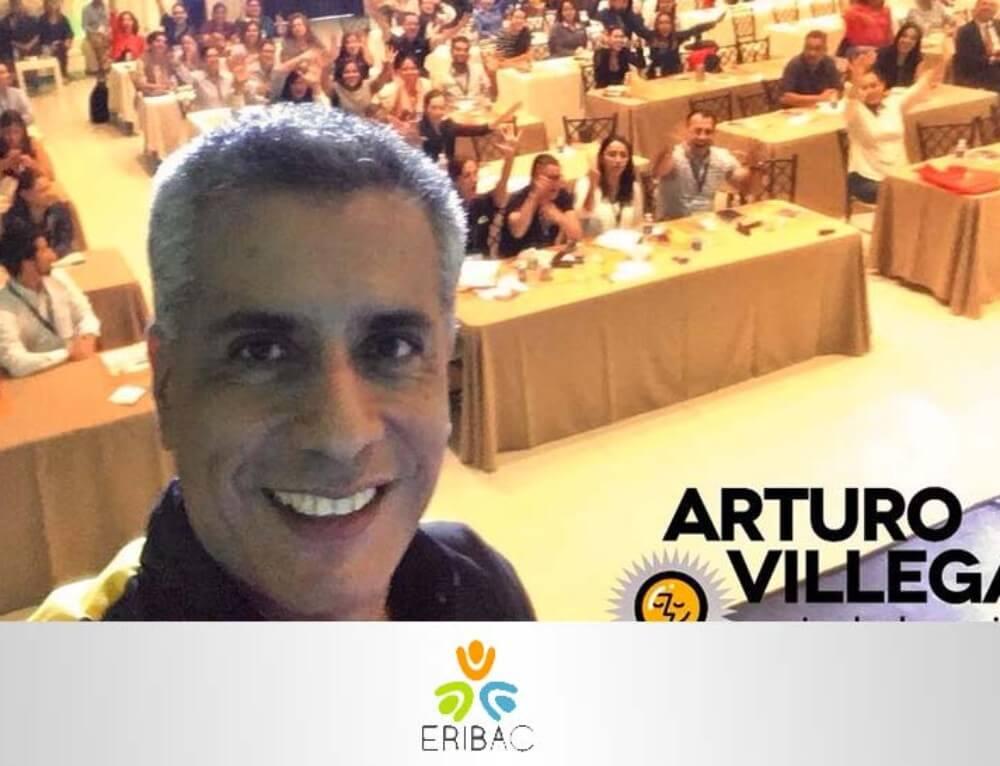 Conferencia con Recursos Humanos con ERIBAC, Mexicali.
